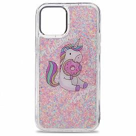 Чехол для iPhone 12/12 Pro (6.1) Love unicorn