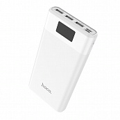 Power Bank Hoco B35E 30000 mAh, Led, 3USB + Type-C/Micro (Белый)