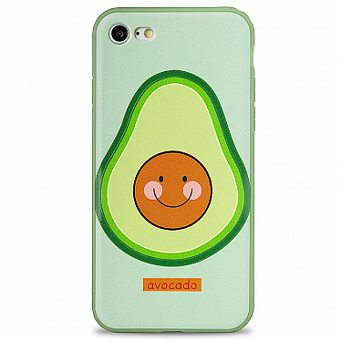 Чехол для iPhone 7/8/SE 2 Avocado Style (Зеленый)
