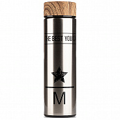"Термос Do The Best You Can ""M"" 500ml (Серебристый)"